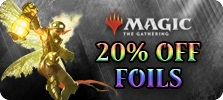 20 Off MTG Foils Coupon Code FOIL20