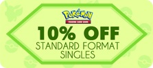 10 Off Pokemon Standard Singles Coupon POKE10