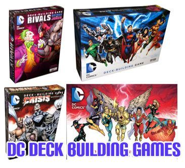 DC Deckbuilding Games