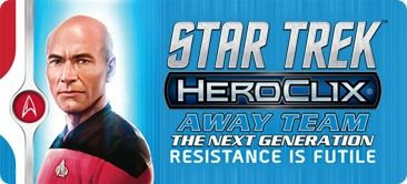 Star Trek HeroClix Away Team The Next Generation