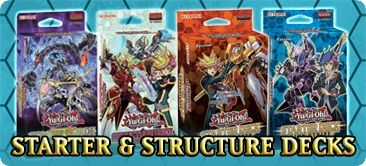 Yugioh Starter and Structure Decks