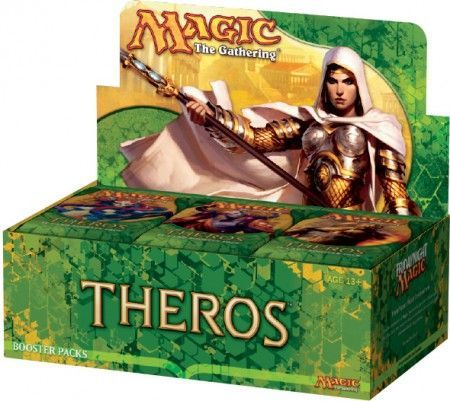 Theros Booster Box Mtg Magic The Gathering Sealed Product