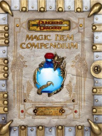 Premium Magic Item Compendium hardcover supplement (d20 D&D 3 5) WOCA3578