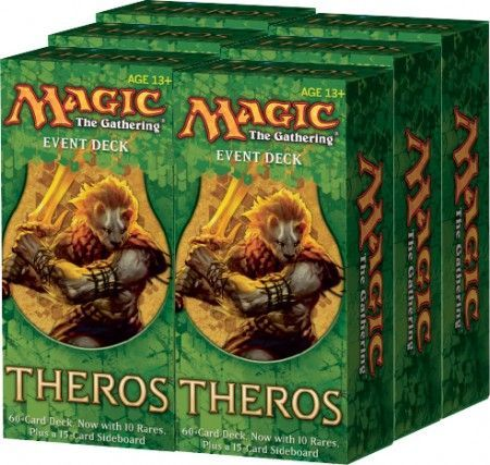 Theros Event Deck Box Of 6 Decks Mtg Magic The Gathering