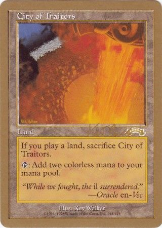 City Of Traitors Tokyo August 1999 Magic The Gathering World