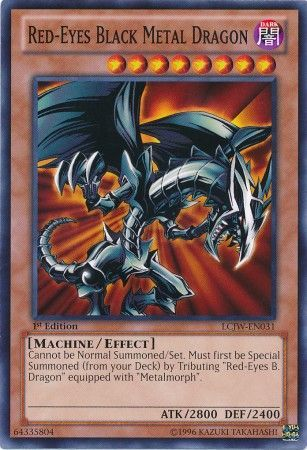 Red Eyes Black Metal Dragon Lcjw En031 Common