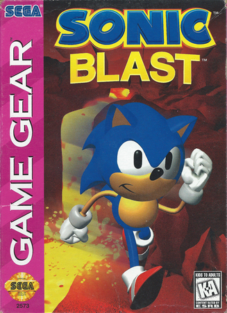 Sonic Blast Sega Game Gear