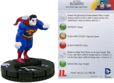 Helspont #042 Superman And The Legion Of Super-Heroes Dc Heroclix Raro