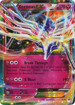 Xerneas Ex Xy07 Ultra Rare Pokemon Xy Promos Pokemon