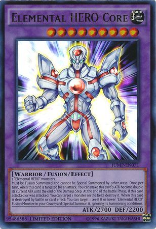 Elemental Hero Core Jump En071 Ultra Rare Yu Gi Oh