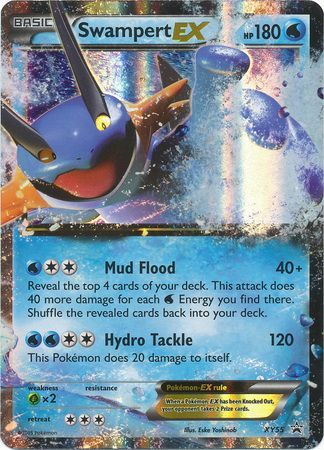 Swampert generation 3 move learnset (Ruby, Sapphire ...