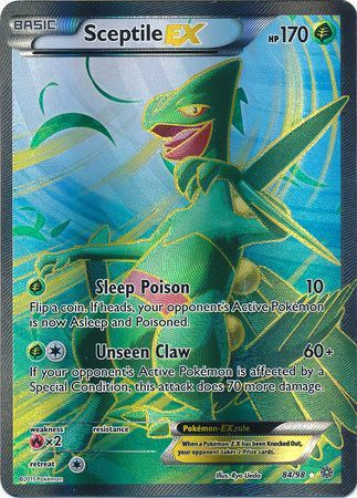 Sceptile Ex Xy Ancient Origins Pokemon Trollandtoad
