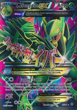 M Sceptile Ex Xy Ancient Origins Pokemon Trollandtoad