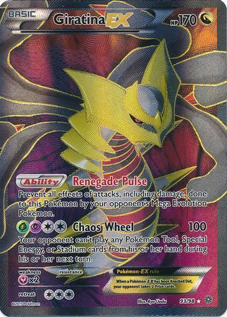 Giratina Ex Xy Ancient Origins Pokemon Trollandtoad