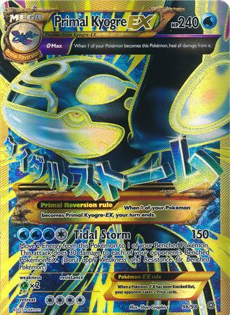 Primal Kyogre Ex Xy Ancient Origins Pokemon Trollandtoad