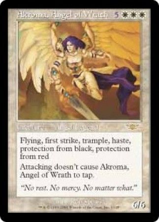 Akroma Angel Of Wrath Legions Singles Magic The Gathering