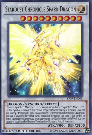 Yu-Gi-Oh! Stardust Spark Dragon HSRD-EN043 Super Rare Mint Condition 1st Edition