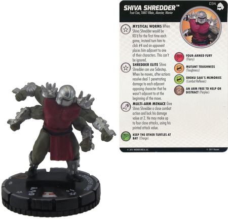 Other: TMNT - Shredder's Return Singles - HeroClix - Troll And Toad