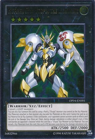 Ultimate Rare Number S39 Utopia The Lightning Op04