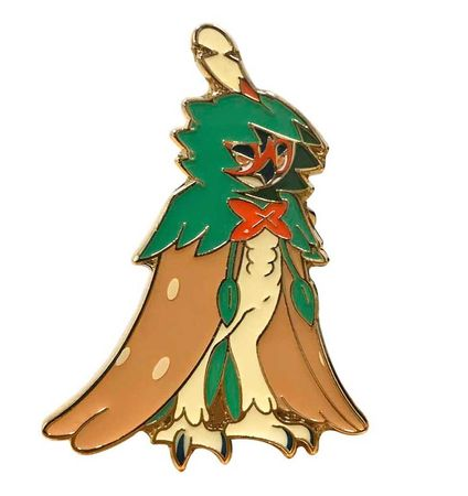 pokemon decidueye gx collector s pin pokemon coins pins badges