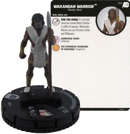 #016 Atlantean Warrior HeroClix Avengers Defenders War