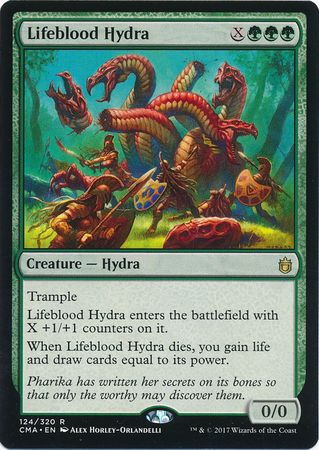 Lifeblood Hydra 124 320 Commander Anthology Singles Magic The