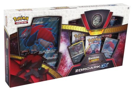 Zoroark GX Collection Box Bundle Verzegelde boosters Pokemon TCG Shining Legends Elite Trainer Box kaartspellen