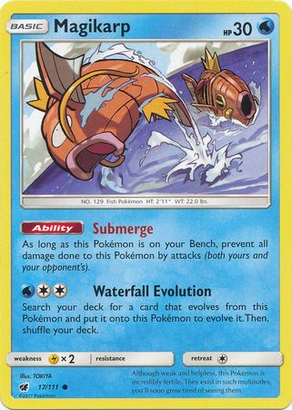 POKEMON EXPED ENGLISH N° 118//165 MAGIKARP