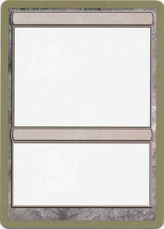 graphic regarding Mtg Printable Proxies called Blank Proxy Card - San Francisco, September 2004 - Magic: The Collecting Earth Championship Singles - Magic The Accumulating