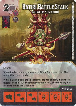 Batiri Battle Stack - Greater Humanoid - 59/136 Uncommon