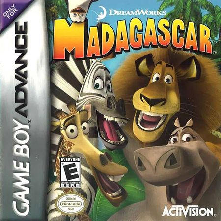 madagascar game boy