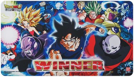 Dragon Ball Super TCG Cross Worlds WINNER Playmat