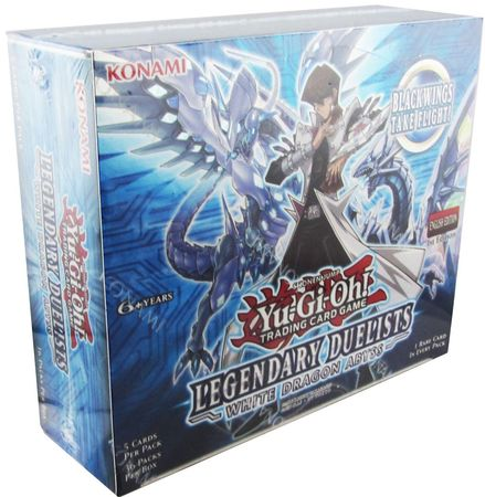 Legendary duelist 1 Booster-alemán White Dragon Abyss