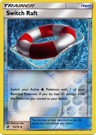 Switch Raft - 62/70 - Uncommon Reverse Holo