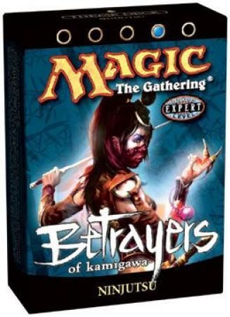 Betrayers of Kamigawa Ninjutsu Preconstructed Theme Deck (MTG) - Magic: The  Gathering Sealed Product - Magic The Gathering