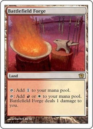 battlefield forge mtg 9th edition singles magic the gathering