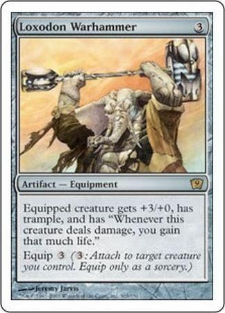 1x Loxodon Warhammer Heavy Play English Mirrodin MTG Magic