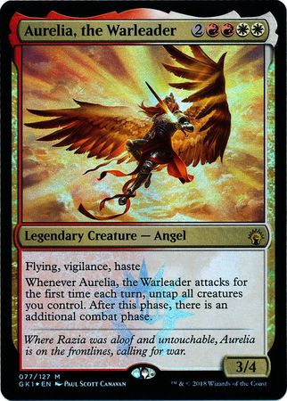 Aurelia, the Warleader 77/127 - Magic | TrollAndToad
