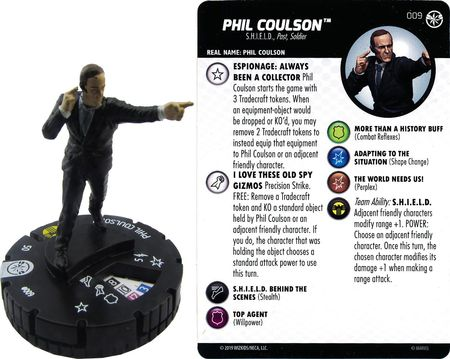 Phil Coulson 009 Captain Marvel Film Marvel Heroclix