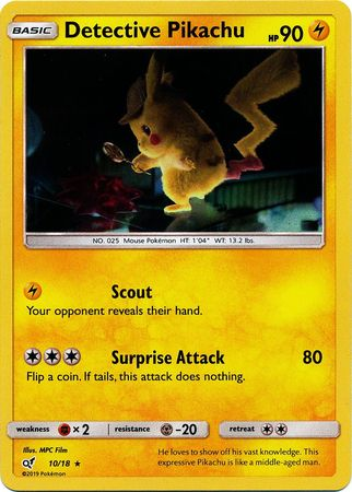 Detective Pikachu Pick Your Own Singles Charizard Pikachu GX Mewtwo Ditto /& More