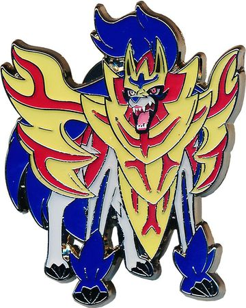 Official Pokemon TCG Pins Zacian /& Zamazenta Pin Badges