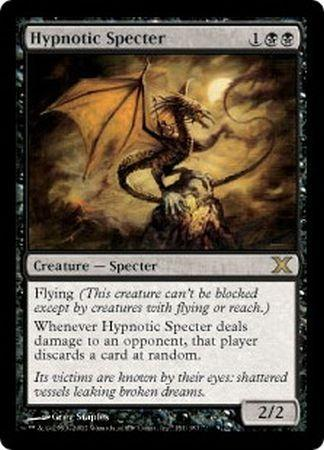 hypnotic specter mtg 10th edition singles magic the gathering