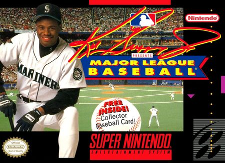 c1be3f2e16 Ken Griffey Jr. Presents: Major League Baseball SNES - Super Nintendo