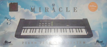 Miracle Piano Teaching System Complete With Keyboard