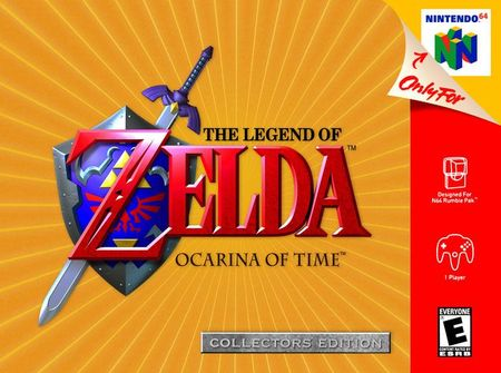 The Legend of Zelda: Ocarina of Time Collector's Edition Nintendo 64
