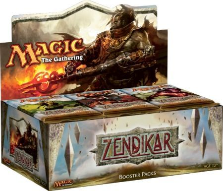 Magic the Gathering MTG Zendikar Individual Booster Pack 2009-1 SEALED PACK!!