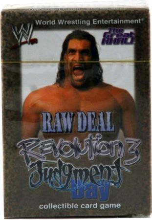 Revolution 3 Judgment Day The Great Khali Starter Deck
