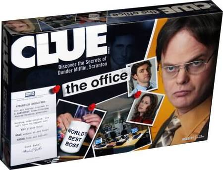 Clue The Office Board Usaopoly