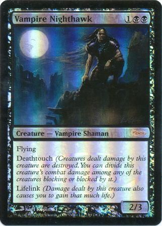 Vampire Nighthawk Dci Foil Magic The Gathering Promo