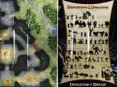 Caves Of Chaos Dungeon Of Dread Set Poster Map D Amp D